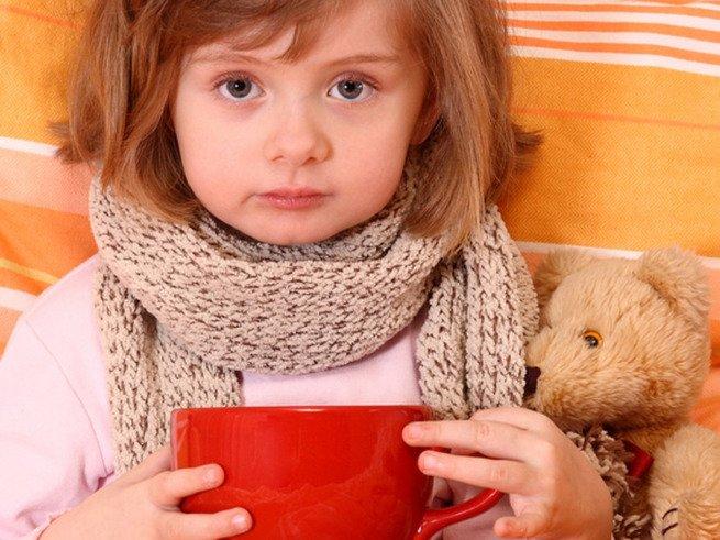 Лечение простуды и ОРВИ у детей 2 лет