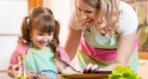 Рыба положительно влияет на развитие интеллекта у детей