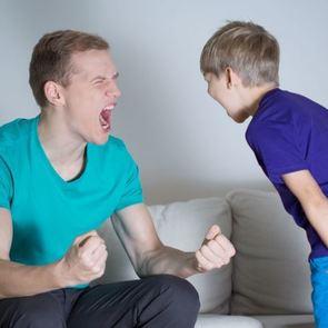 «Папа, не кричи!»