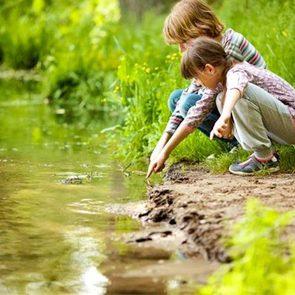 Ученые: детство на природе полезно для психики
