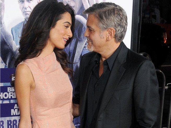 Джордж Клуни готовится стать отцом