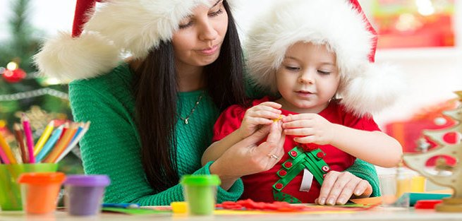 Ёлочные игрушки своими руками: 15 несложных поделок для малышей