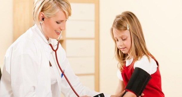Артериальное давление у ребёнка 8 лет