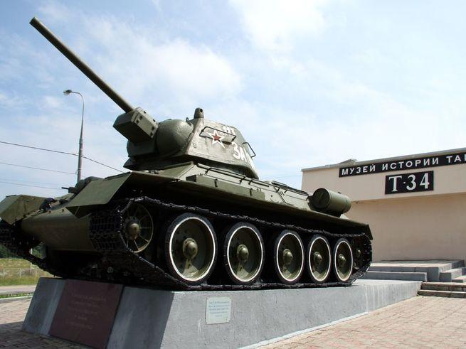 Музей знаменитого Т-34  ждёт  всех, кто ещё не в танке