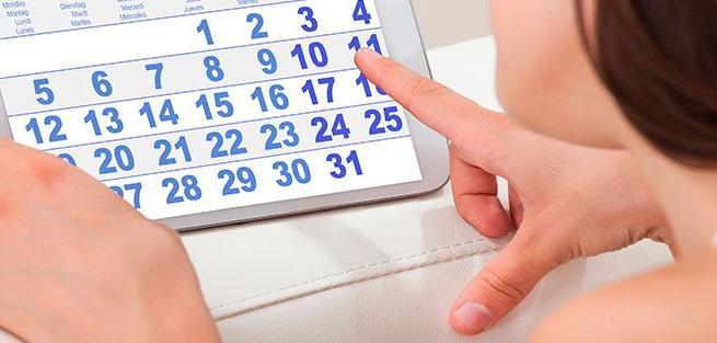 Менструальный цикл: продолжительность и признаки