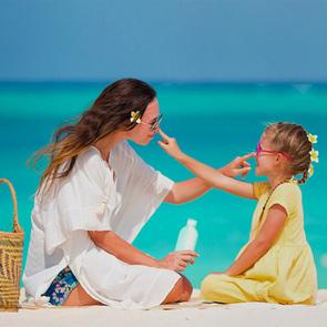 Загар у детей не считается признаком здоровья