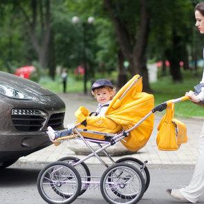 Самый грязный воздух находится на уровне детских колясок
