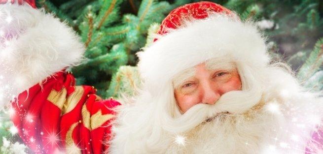 Дед Мороз приглашает на свой день рождения