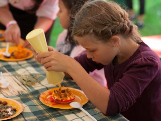 На фестивале «О, да! Еда!» детей ждут вкусные мастер-классы
