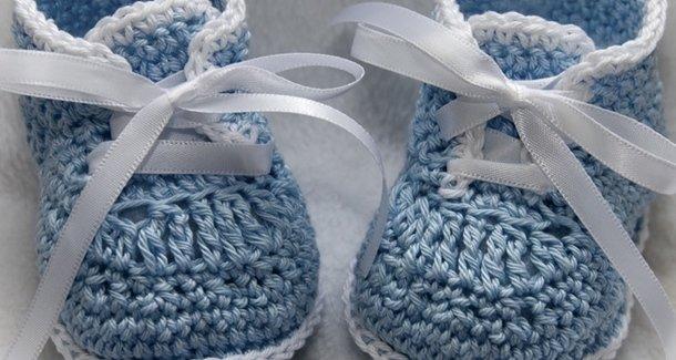 Вязание пинеток и носков для новорожденных