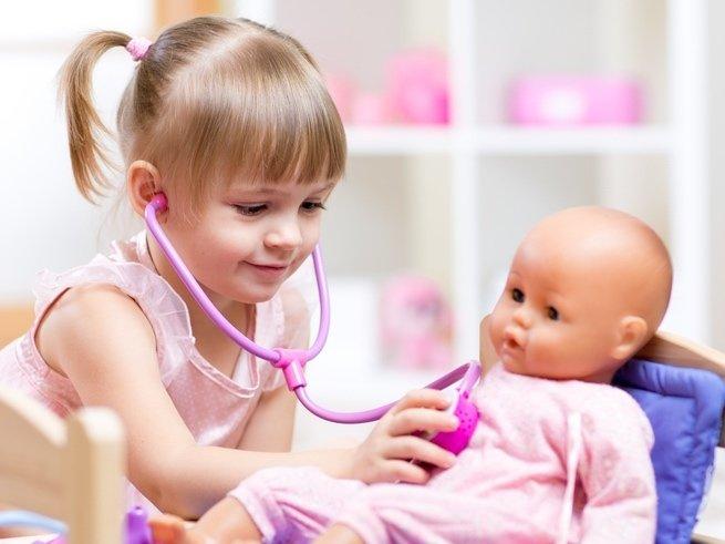 Ролевые игры для малышей: просто и полезно