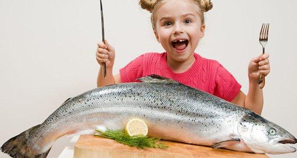 Какая рыба полезна для детей?