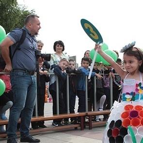 В Пятигорске провели необычное детское шоу «Экогород»