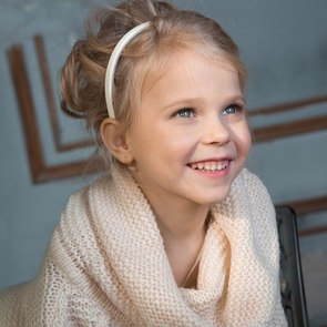5-летняя девочка из Новокузнецка признана самым красивым ребёнком