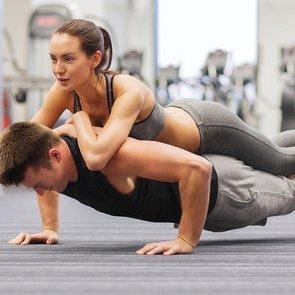 Комплекс упражнений на пресс для мужчин