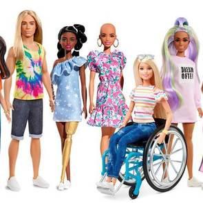Barbie представляет кукол с физическими особенностями
