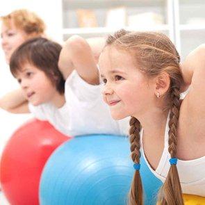 Гимнастика для детей от 7 лет