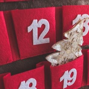 Волшебный адвент-календарь за полчаса своими руками