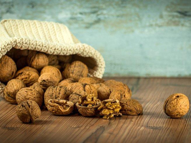 Сколько йода содержится в грецких орехах. Перечень богатых йодом продуктов, полезных для щитовидной железы. Перегородки грецкого ореха