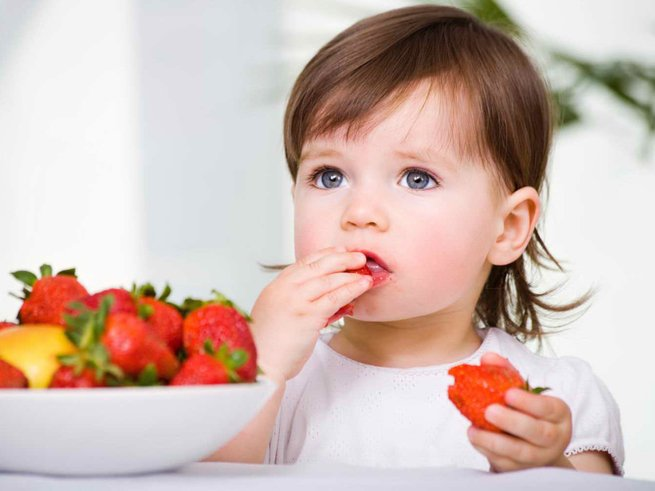 Завтрак, обед и ужин для ребенка 2 лет