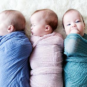 Британка родила тройню, не зная о беременности