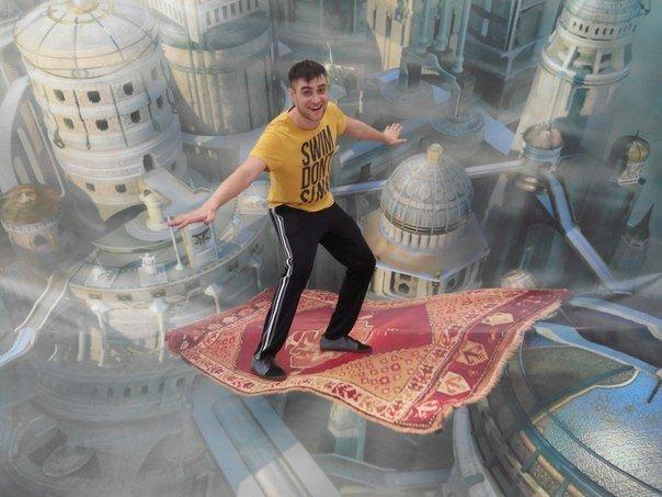 «3D-воображариум» покатает на ковре-самолёте