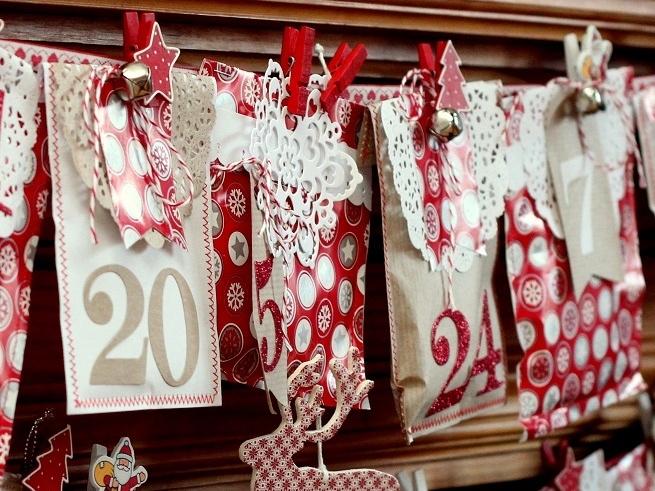 Адвент-календарь или чудо для малыша своими руками
