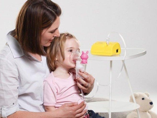 Выбираем небулайзер для ребенка