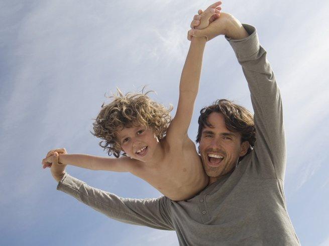Зная рост мамы и папы, можно рассчитать рост ребёнка