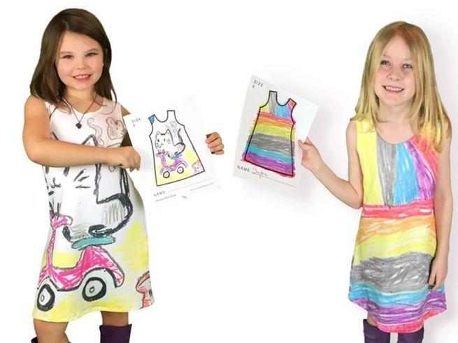 Платья с детскими рисунками становятся суперпопулярными