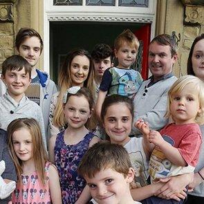 В самой многодетной британской семье родился 21-й ребенок
