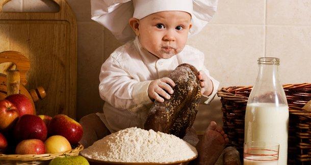 Рацион питания ребёнка 9 месяцев