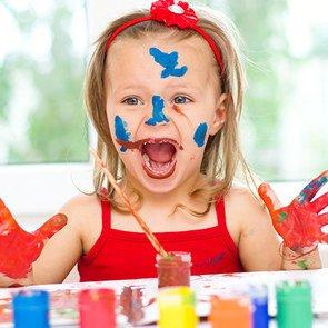 5 полезных игр с красками