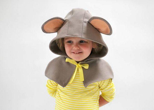 Удивительная одежда превратит детей в мышат, лисят и медвежат