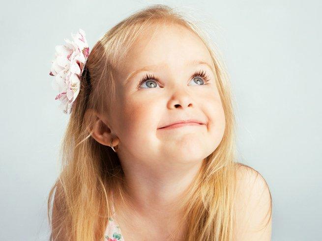 Трёхлетней девочке напечатали новое ухо
