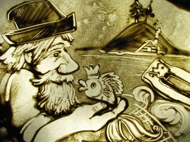 В Доме кино покажут песочное шоу по сказкам Пушкина