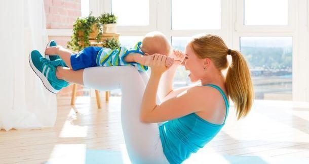 В спортзал с детьми: важные нюансы