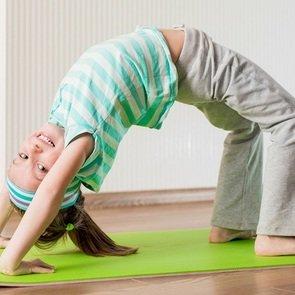 Гимнастика и зарядка для детей в 9 лет