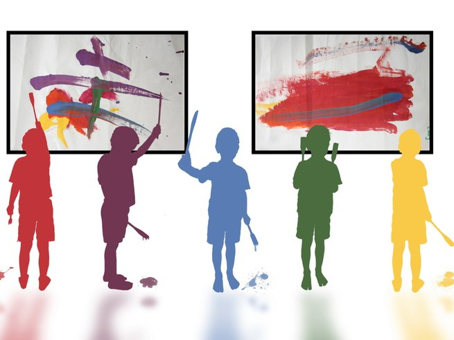 Какие выбрать картины и рисунки для детской комнаты