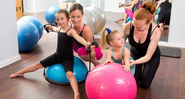 Аэробика - отличный вид спорта для  ребёнка