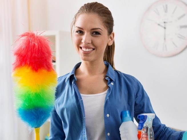 Простые секреты быстрой уборки