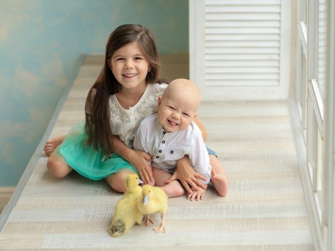 Большая разница между детьми: как их подружить?