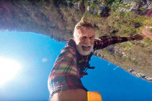 Пенсионер из Новосибирска прыгнул с 207-метровой высоты ради любимой