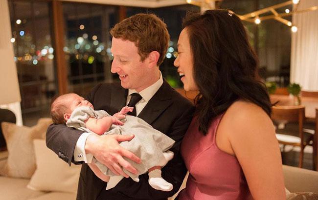 Цукерберг сделал прививку своей дочери