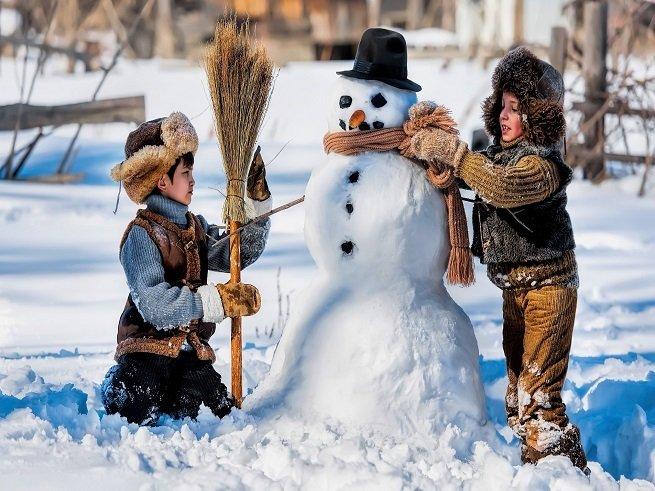 Идеи для зимнего отдыха с детьми