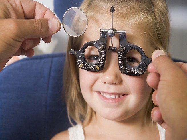 Близорукость у детей: причины и лечение