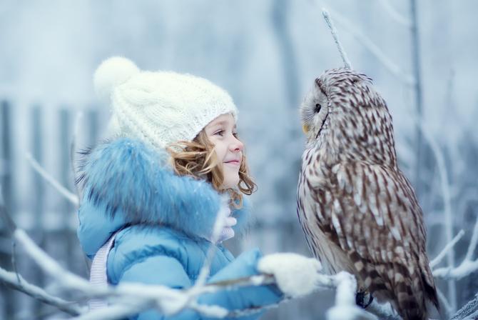 №5. Покормить белок и лесных птиц