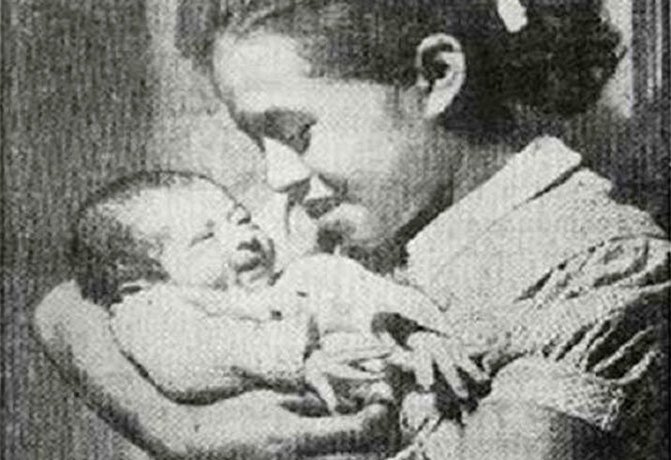 Ильда Трухильо - 8 лет, 1957 год