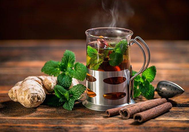 Чаи с травами