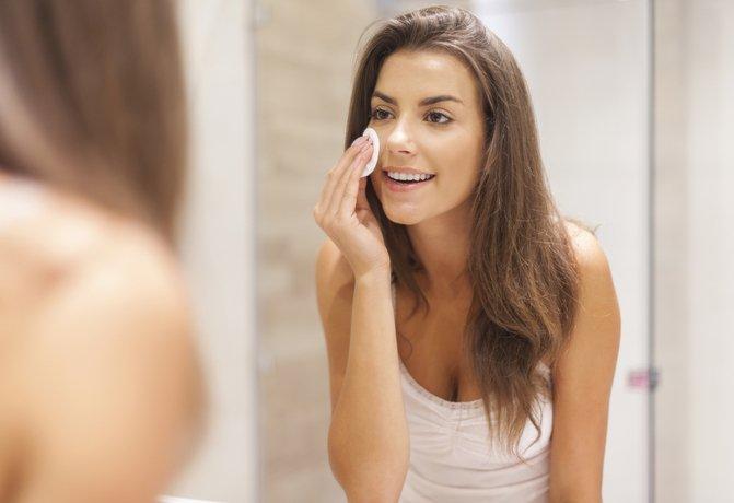 Очищение кожи во время беременности